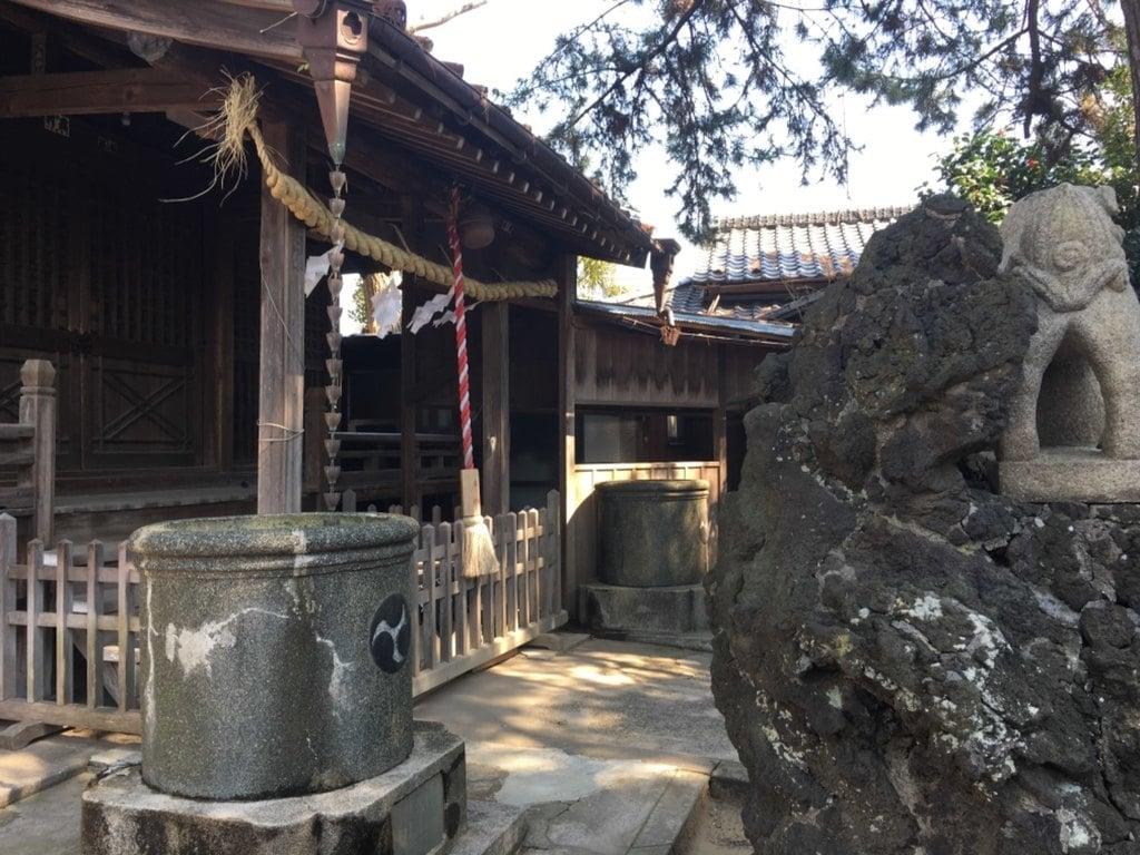神明社(千葉県鬼越駅)