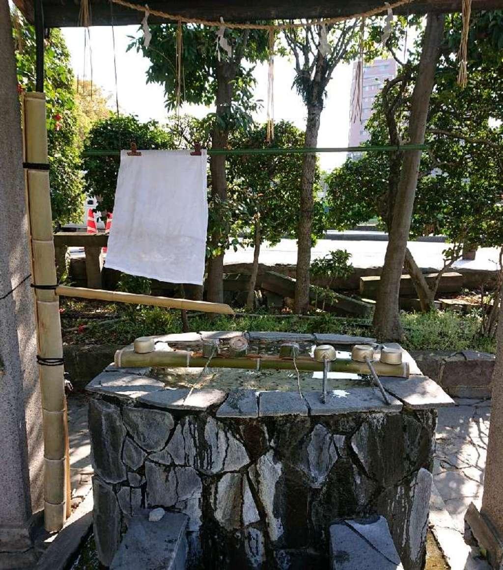 熊本大神宮の手水