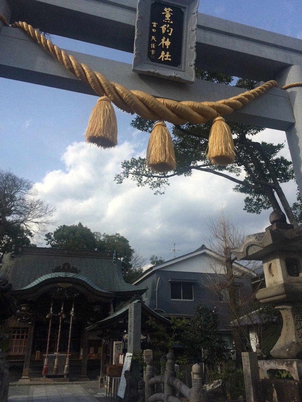 薫的神社の鳥居