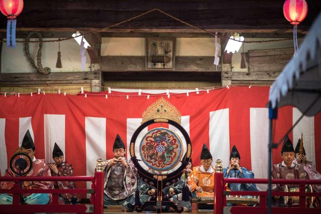 宮崎神社の神楽