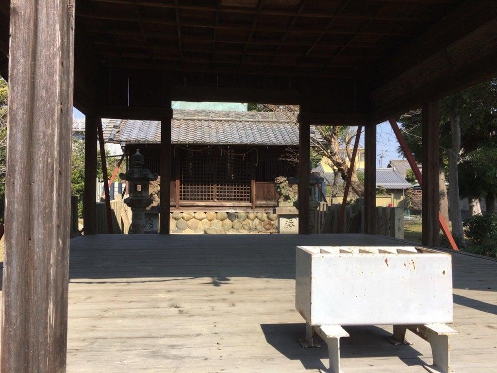 白山社(愛知県妙興寺駅)