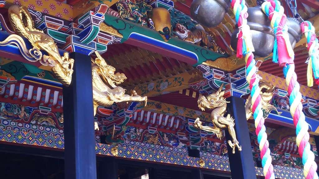 大崎八幡宮の芸術