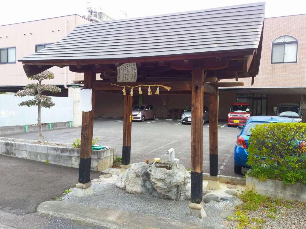 北野神社の手水