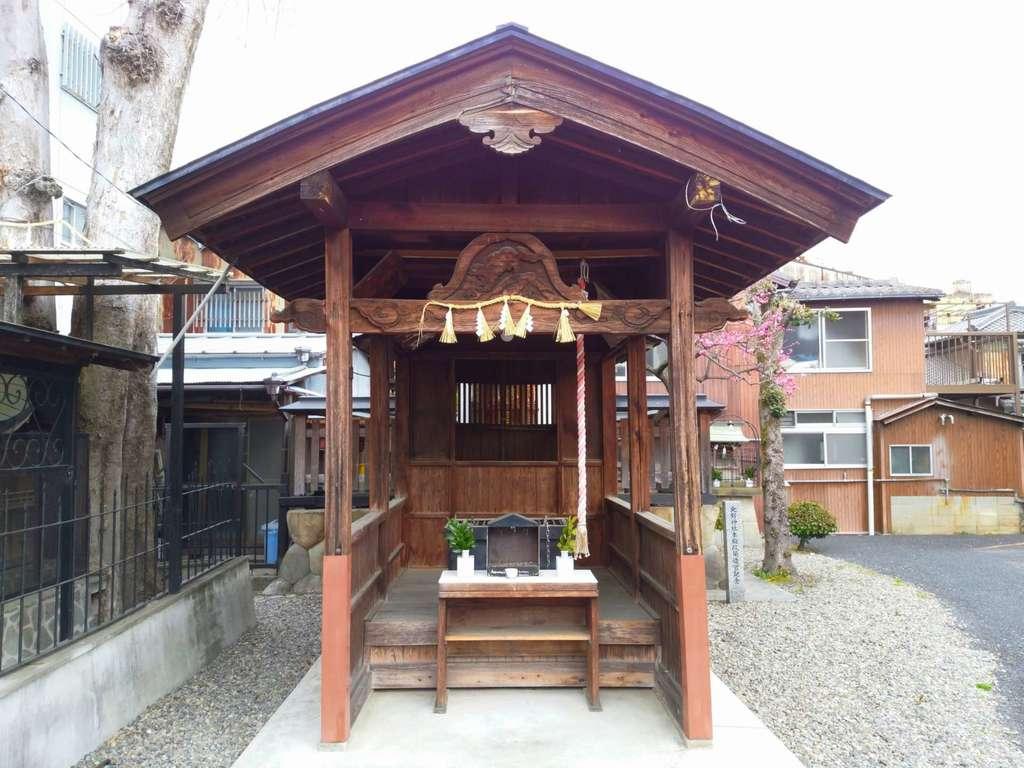 北野神社の本殿