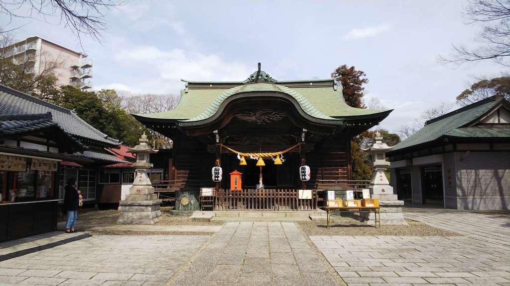 菊田神社の本殿