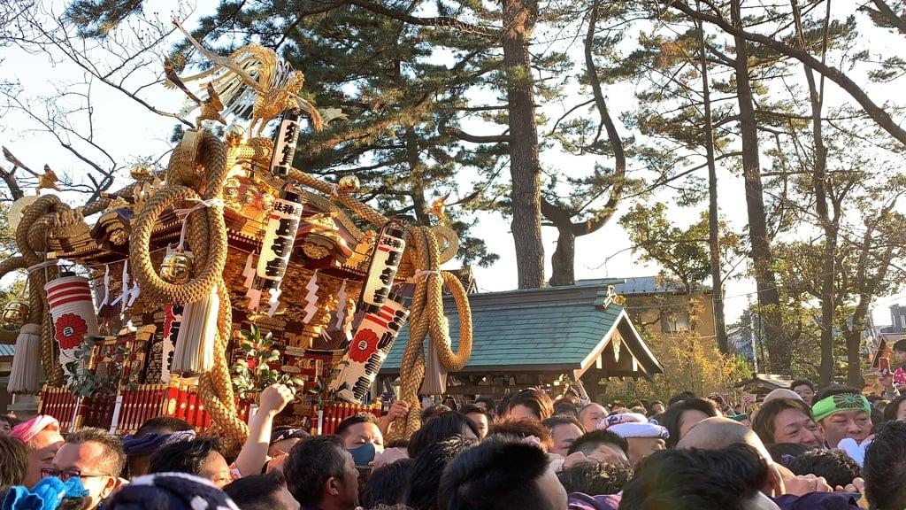 平塚三嶋神社のお祭り