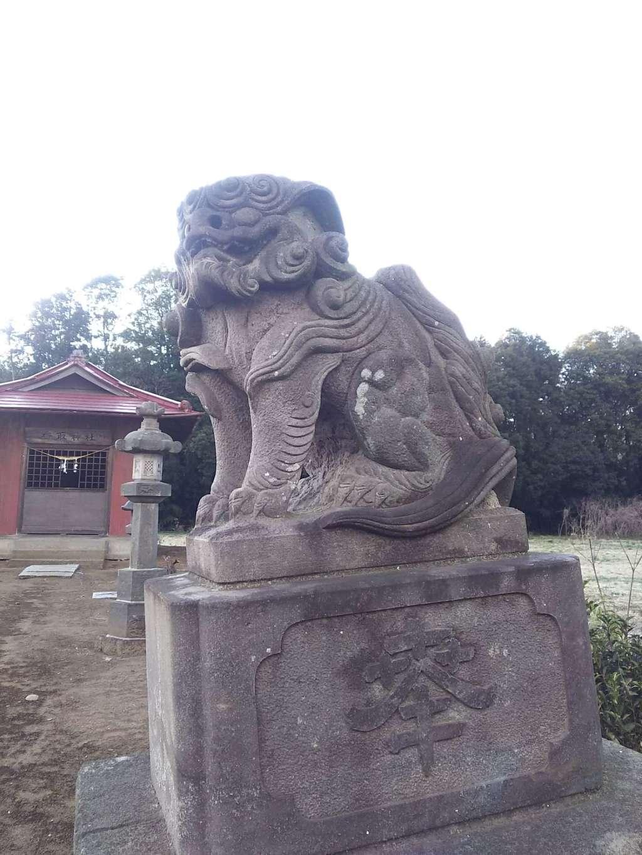 香取神社の狛犬
