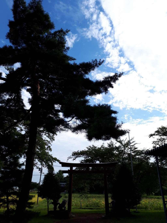神明神社の景色