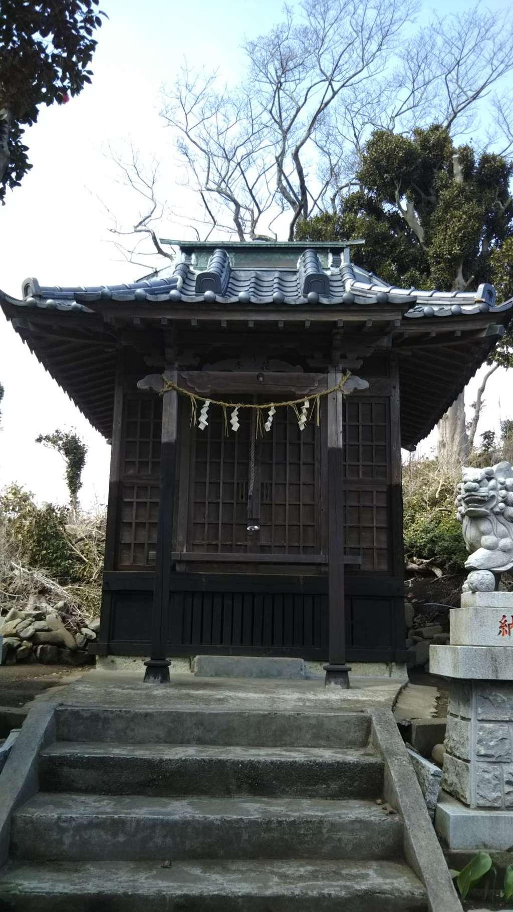 木花咲耶姫神社の本殿