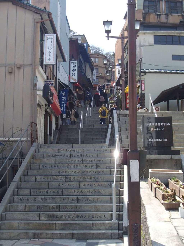 伊香保神社の周辺