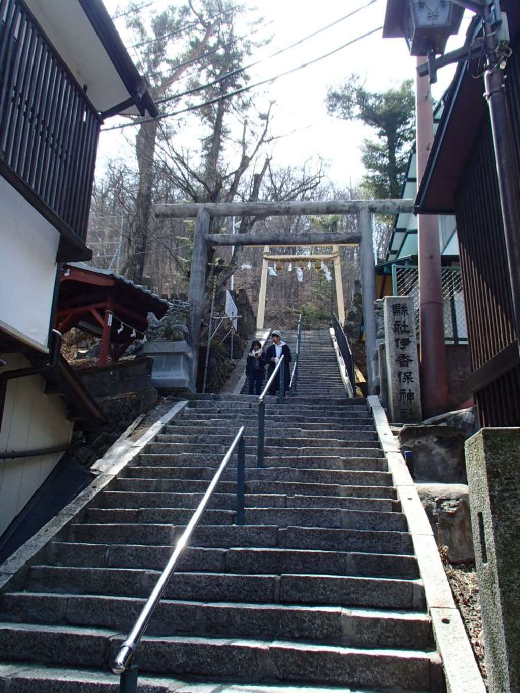伊香保神社の鳥居