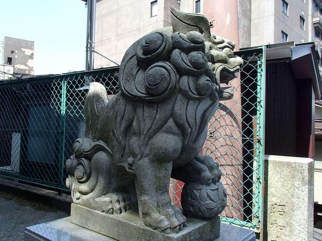 伊香保神社の狛犬