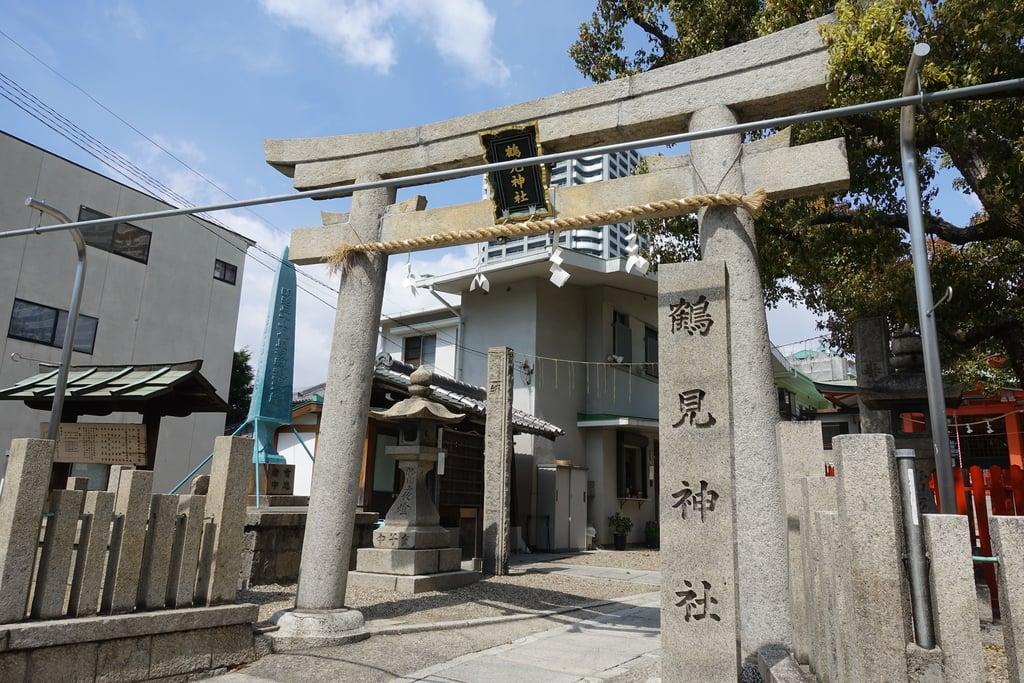 鶴見神社の鳥居