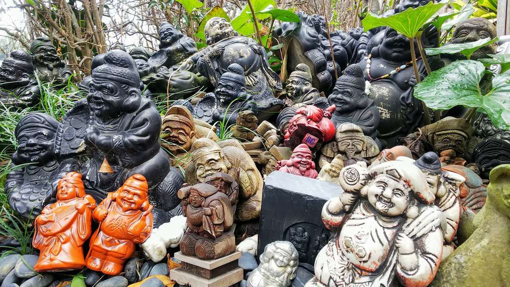 水宮神社の像