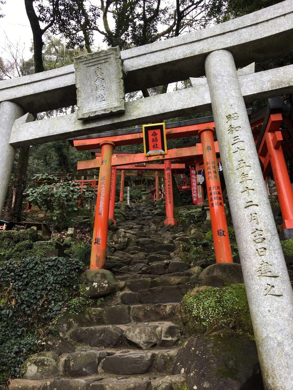 祐徳稲荷神社の鳥居