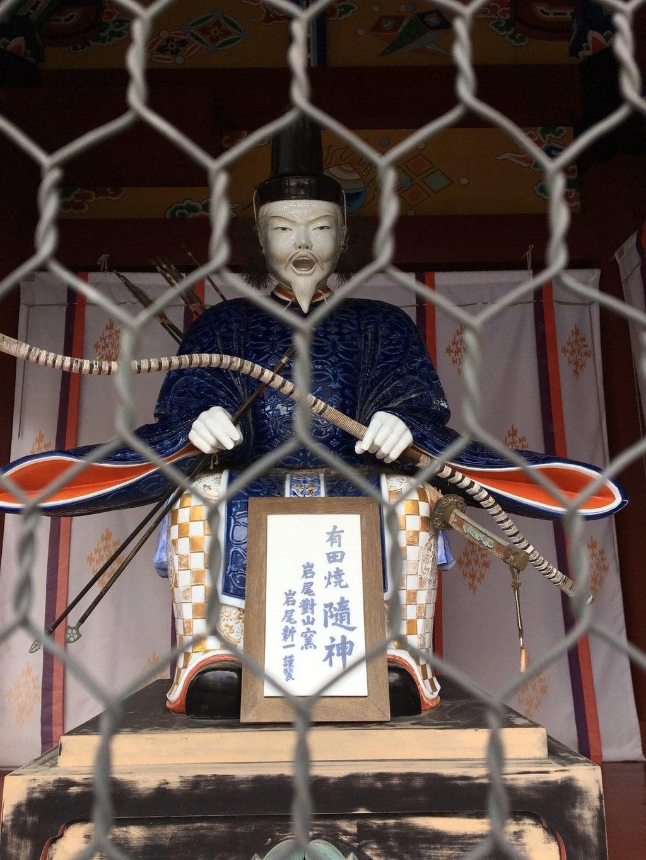 祐徳稲荷神社の像