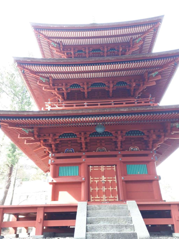 本宮神社(日光二荒山神社別宮)の塔