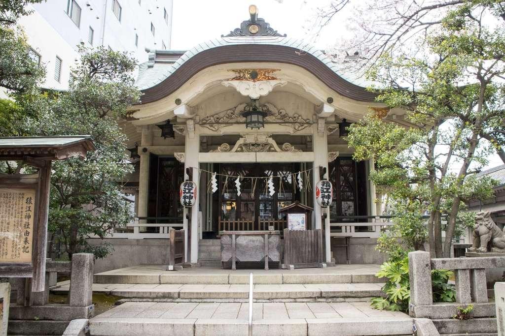 猿江神社の本殿