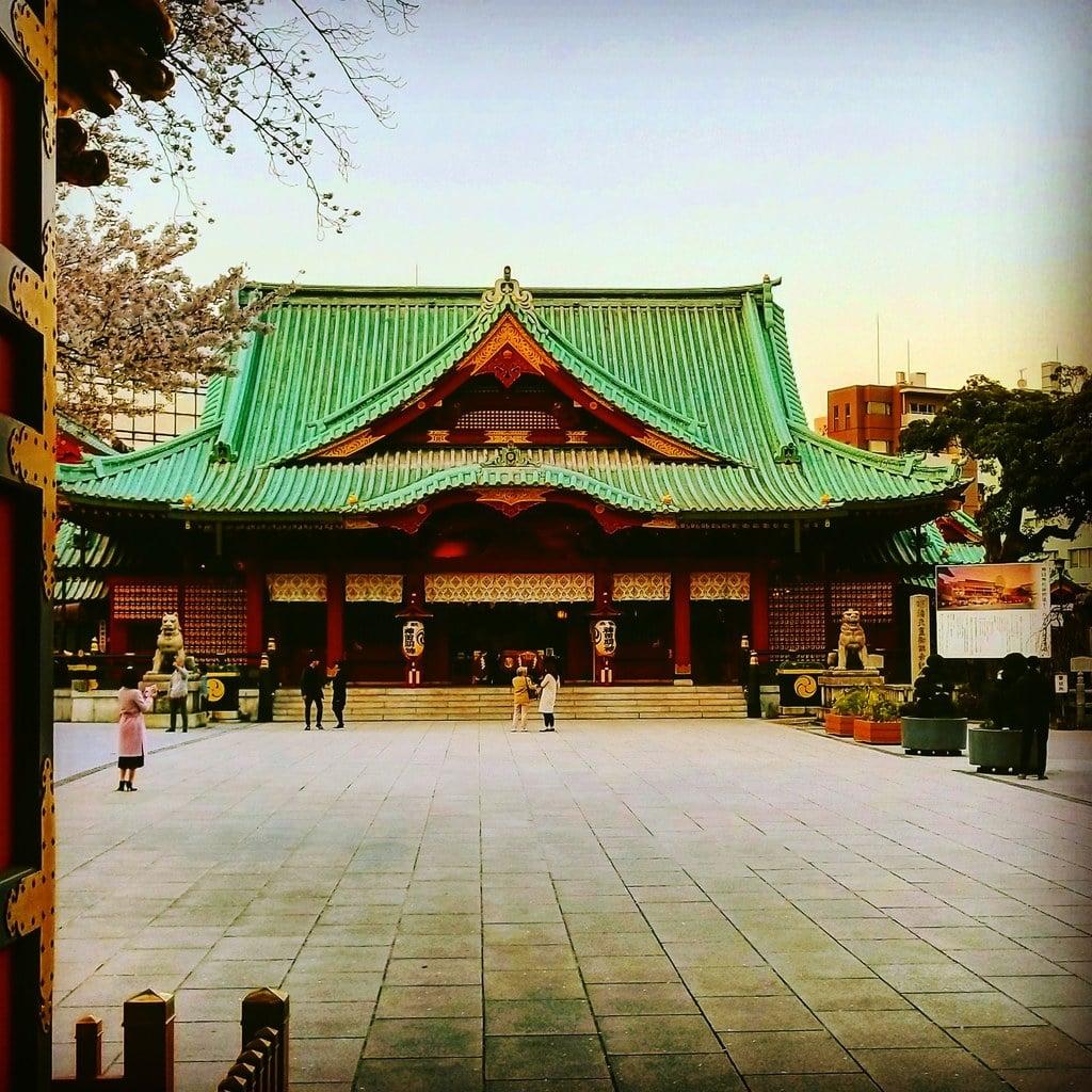神田神社(神田明神)の本殿(東京都末広町駅)