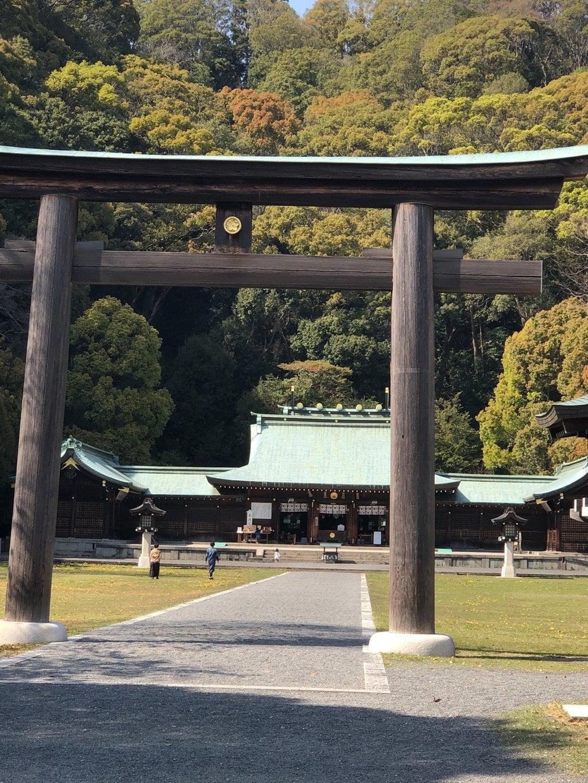 静岡県護国神社の鳥居