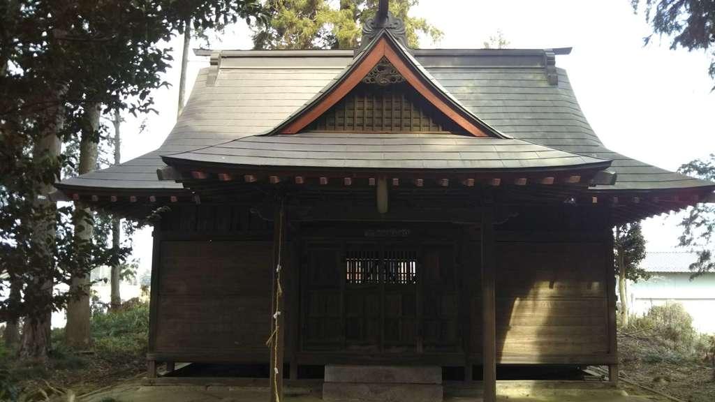 手子后神社の本殿