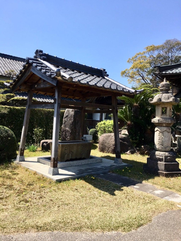 願成寺の手水