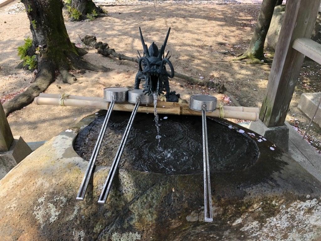万九千神社の手水