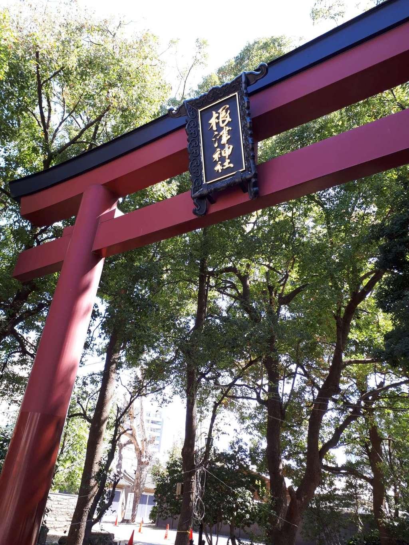 根津神社の歴史