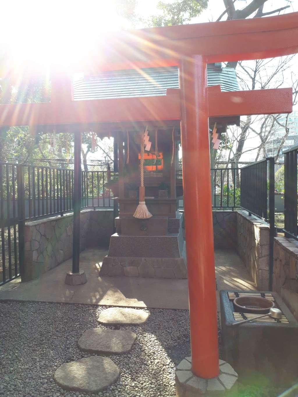 上野東照宮の鳥居(東京都京成上野駅)