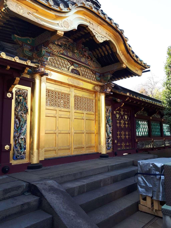 上野東照宮の本殿・本堂(東京都京成上野駅)