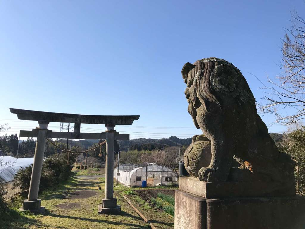 松尾神社(千葉県上総中川駅)