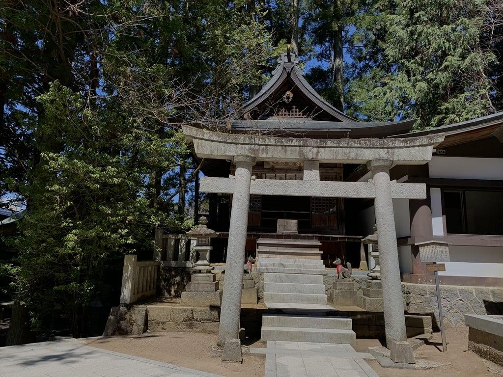 櫻山八幡宮の鳥居