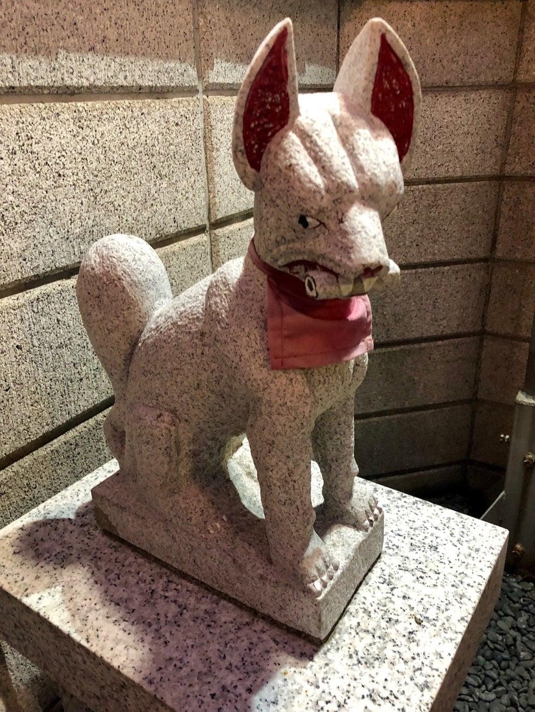 橘稲荷神社の狛犬