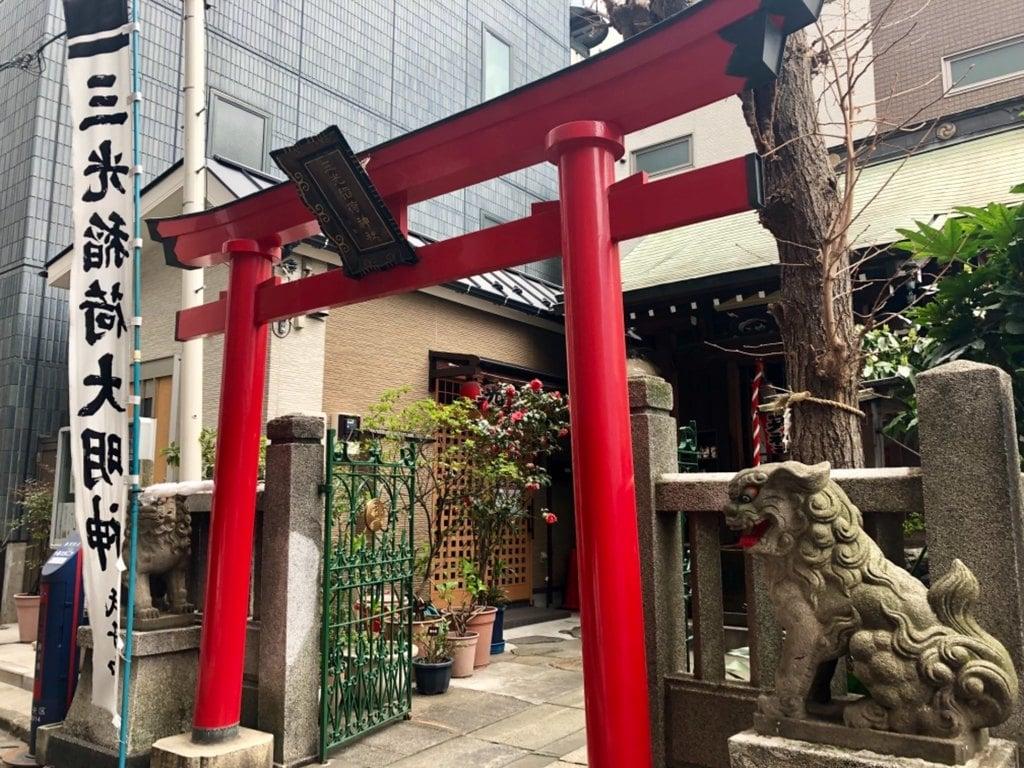 三光稲荷神社の境内・文化財