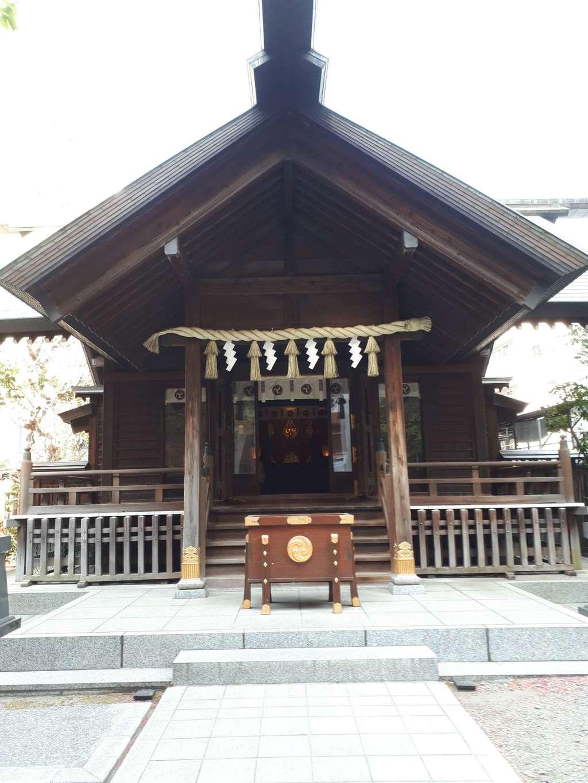 蔵前神社の本殿・本堂(東京都蔵前駅)