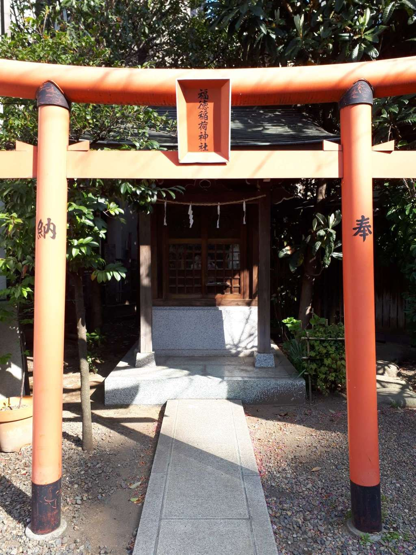 蔵前神社の鳥居(東京都蔵前駅)