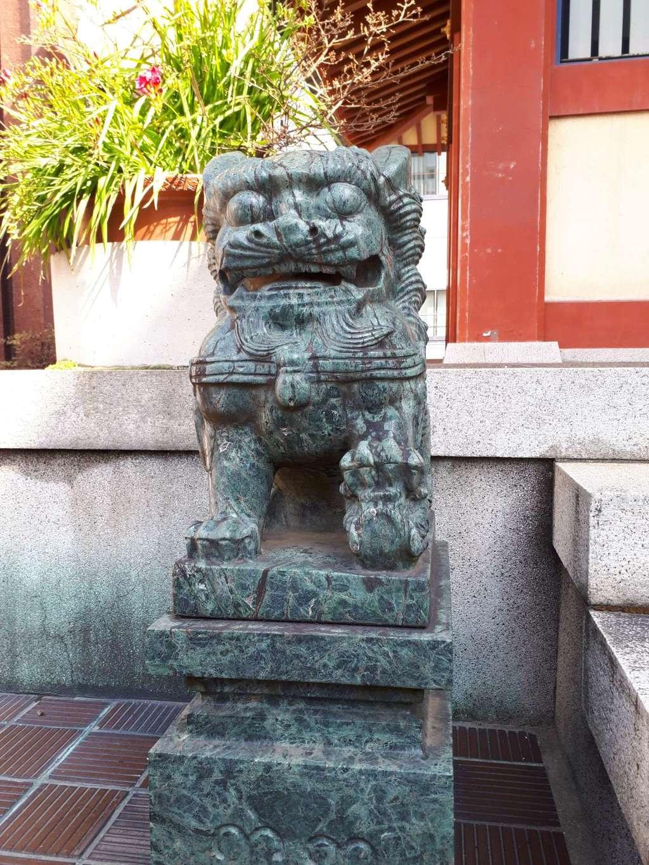 三島神社の狛犬