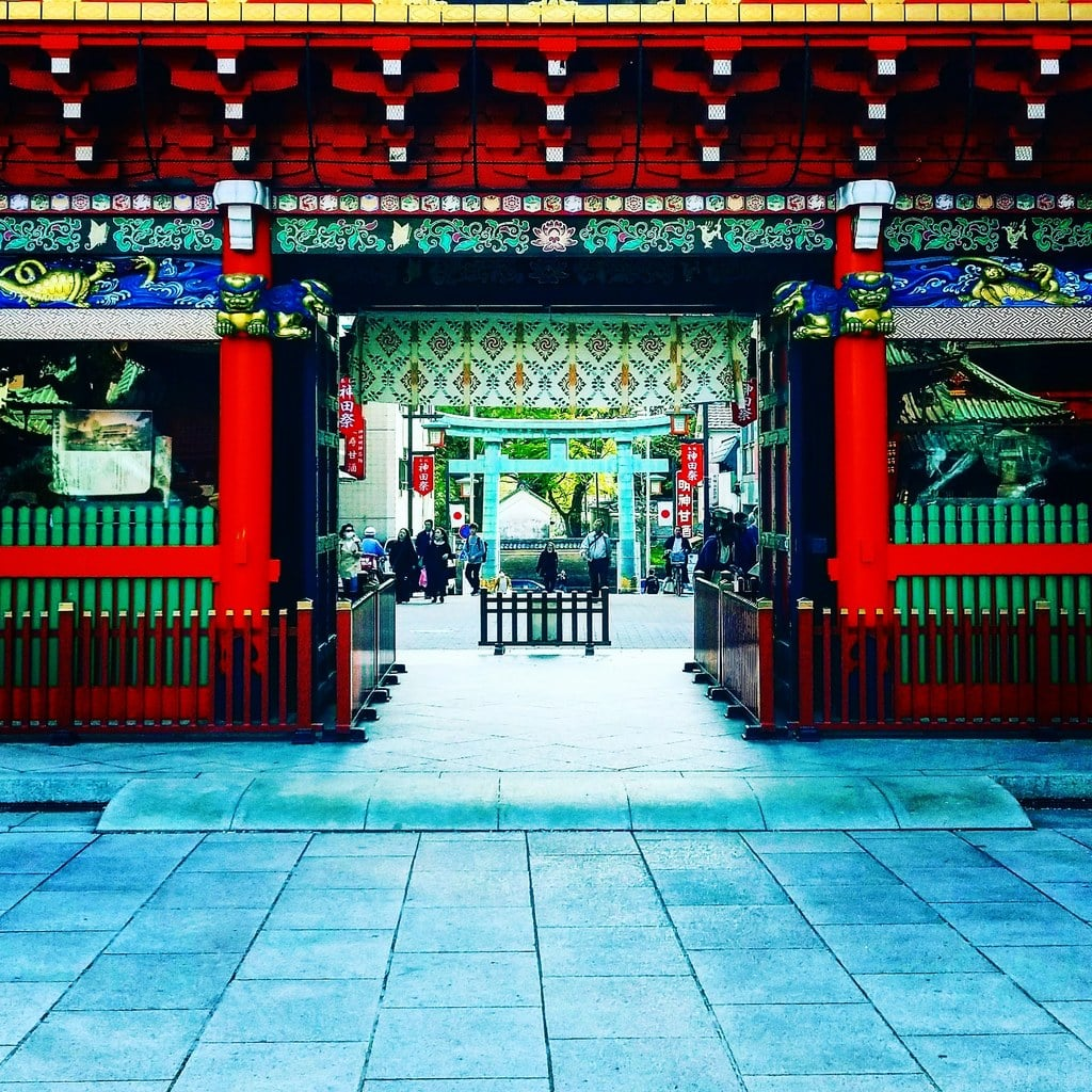 神田神社(神田明神)の山門(東京都末広町駅)