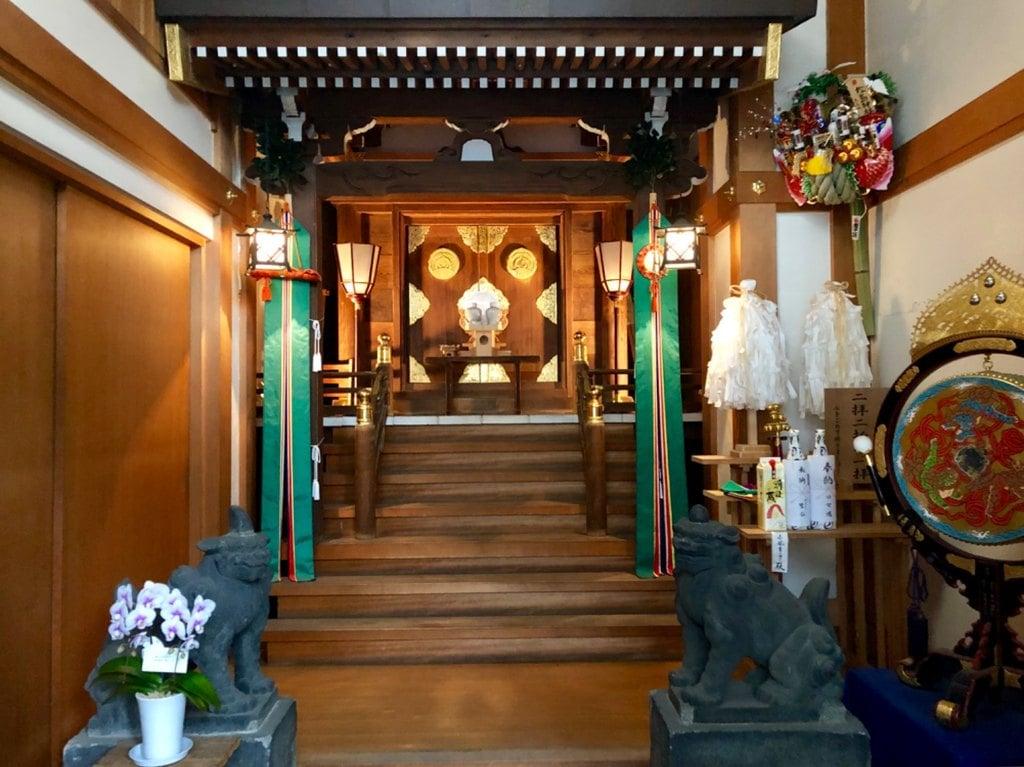 松島神社の狛犬