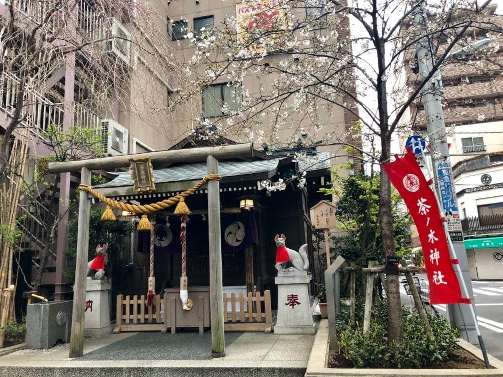 茶の木神社の本殿