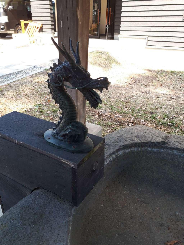 長沼神社の手水