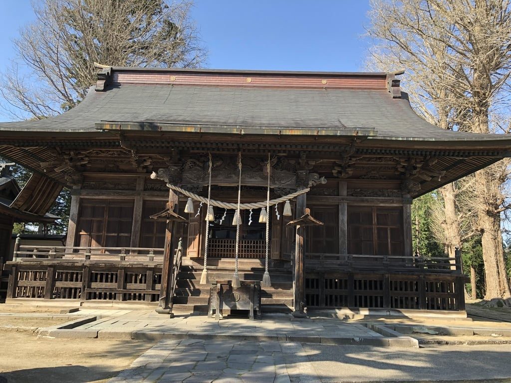 刈田嶺神社の本殿