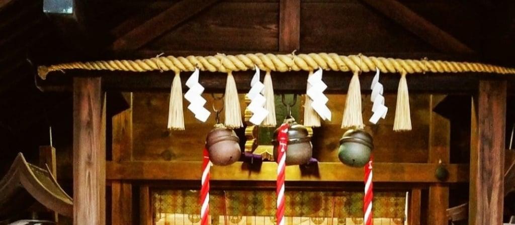 久国神社の本殿・本堂(東京都六本木一丁目駅)