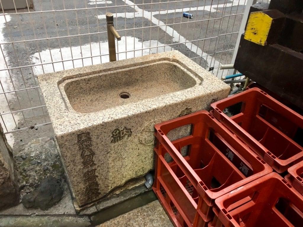 寳田恵比寿神社の手水