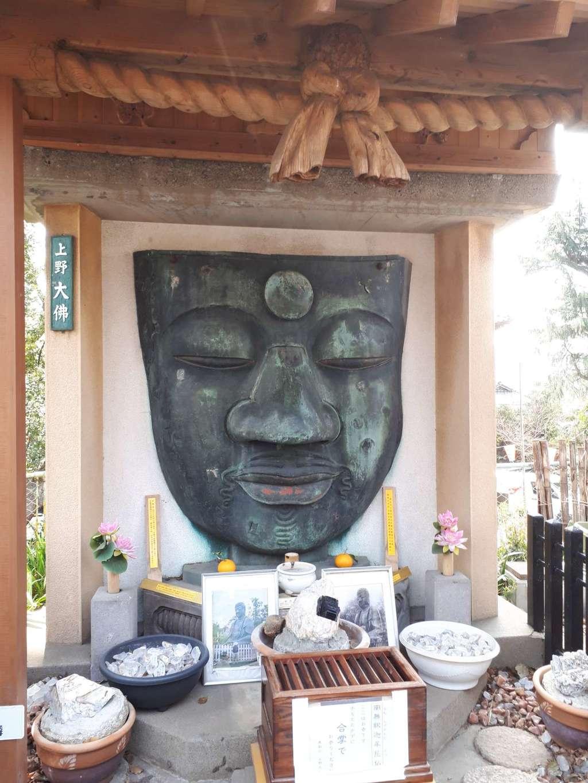 上野大仏の仏像