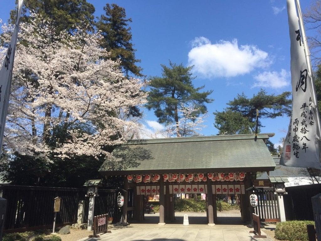 櫻木神社の山門