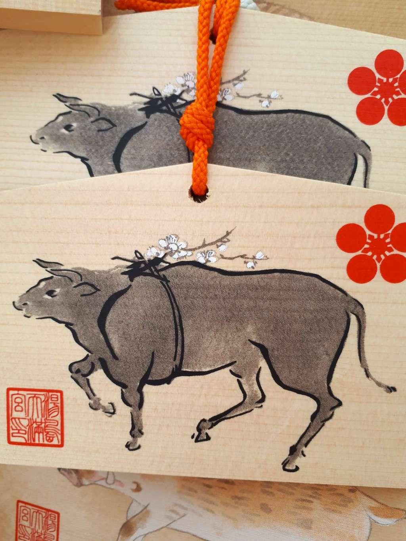 湯島天満宮の絵馬(東京都湯島駅)