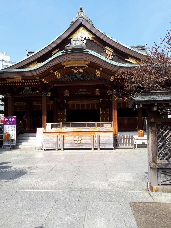 湯島天満宮の本殿・本堂(東京都湯島駅)