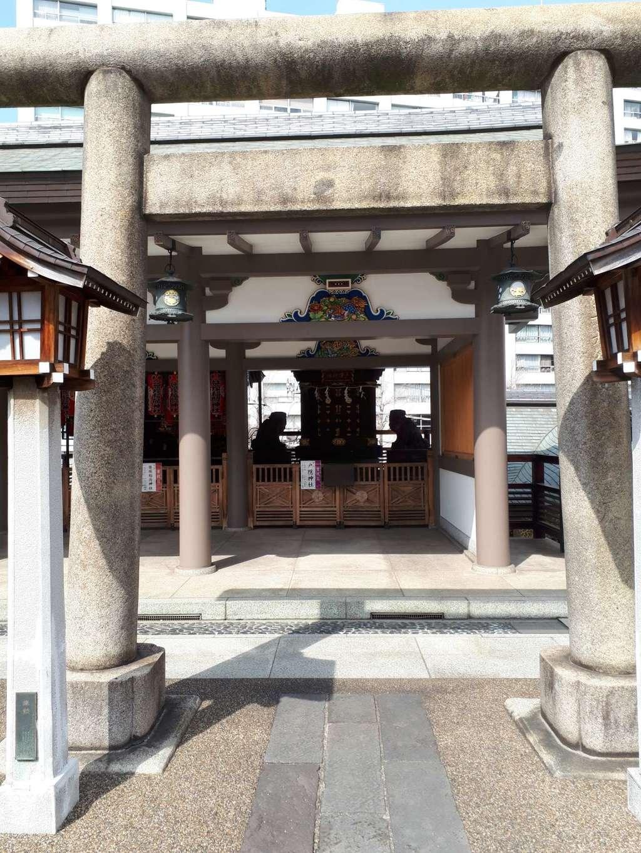 湯島天満宮の末社・摂社(東京都湯島駅)