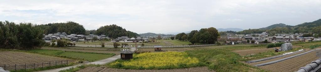 橘寺の景色